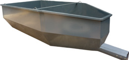 Standard closed ended bucket